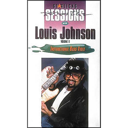 Star Licks Louis Johnson Volume 2 (VHS)-thumbnail