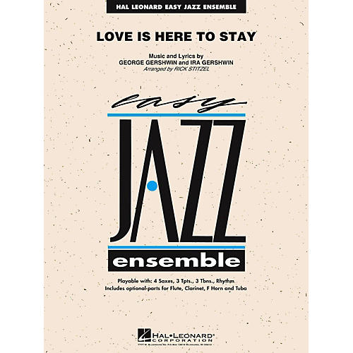 Hal Leonard Love Is Here To Stay Jazz Band Level 2-thumbnail