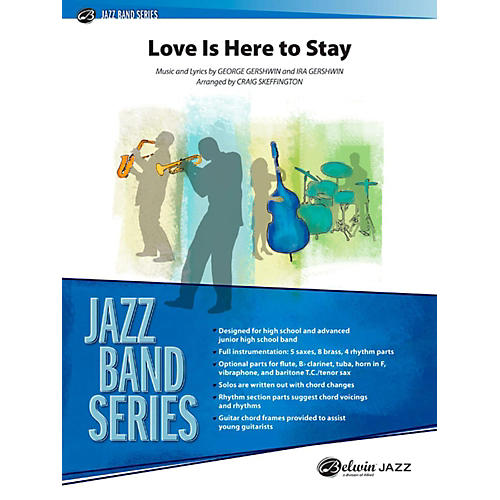 Alfred Love Is Here to Stay Jazz Band Grade 3.5