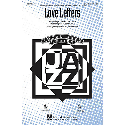 Hal Leonard Love Letters ShowTrax CD Arranged by Paris Rutherford
