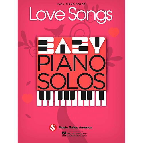 Music Sales Love Songs - Easy Piano Solos-thumbnail