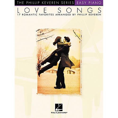 Hal Leonard Love Songs - Phillip Keveren Series For Easy Piano-thumbnail