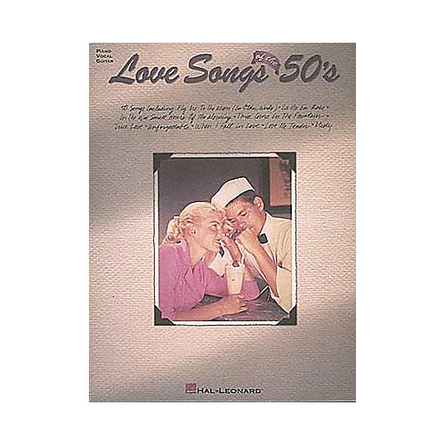 Hal Leonard Love Songs Of The 50'sPiano/Vocal/Guitar Songbook