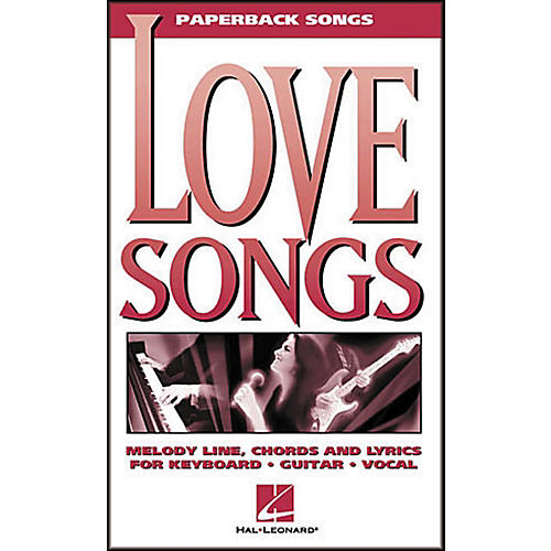 Hal Leonard Love Songs Paperback Songs Piano, Vocal, Guitar Songbook-thumbnail