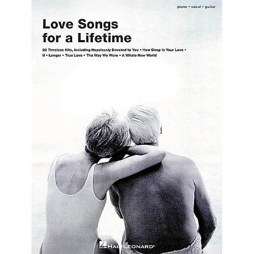 Hal Leonard Love Songs for a Lifetime Piano, Vocal, Guitar Songbook-thumbnail