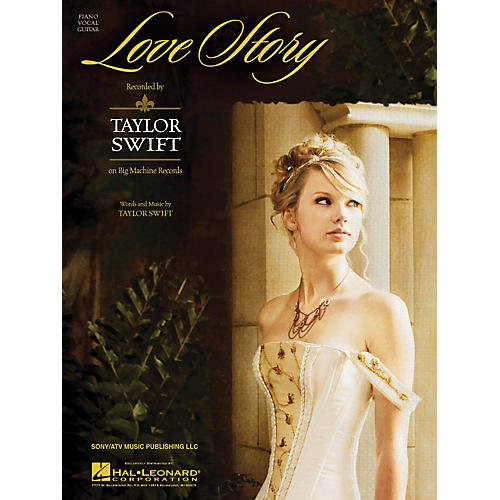 Hal Leonard Love Story by Taylor Swift arranged for piano, vocal and guitar-thumbnail