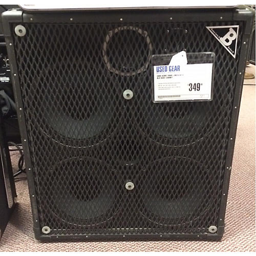 In Store Used Low B 4x10 Blk Bass Cabinet