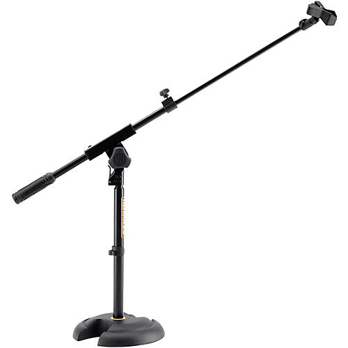 Hercules Stands Low-Profile, Short Microphone Boom Stand-thumbnail