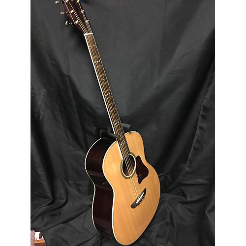 Washburn Lsb768sek Acoustic Electric Guitar Natural