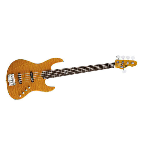 ESP Ltd Elite J-5  5-String Electric Bass Guitar Amber