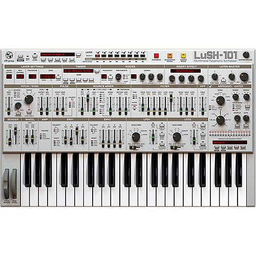 D16 Group LuSH-101 SH101 32 voice polyphonic emulation (VST/AU) Software Download-thumbnail