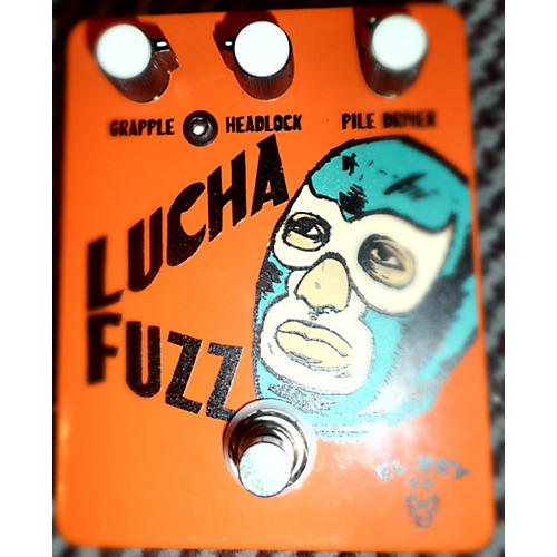 In Store Used Lucha Fuzz Effect Pedal-thumbnail
