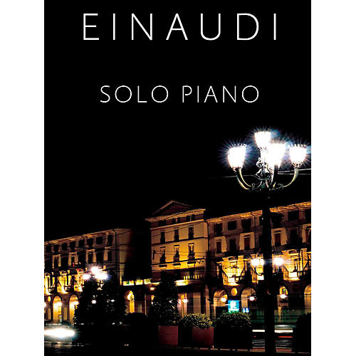 Music Sales Ludovico Einaudi Solo Piano - Hard Cover with Slip Case Package-thumbnail