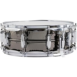Ludwig Supraphonic Black Beauty Hammered Snare Drum