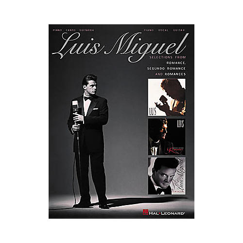 Hal Leonard Luis Miguel - Selections from Romance, Segundo Romance, and Romances Songbook-thumbnail