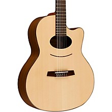 Kremona Lulo Reinhardt Daiman 14 Fret Nylon-String Acoustic-Electric Guitar