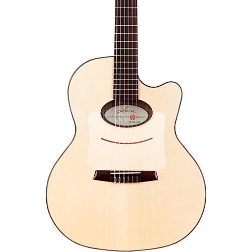 open box kremona lulo reinhardt daiman 14 fret nylon string acoustic electric guitar natural. Black Bedroom Furniture Sets. Home Design Ideas