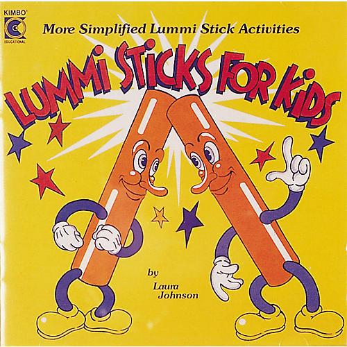 Kimbo Lummi Sticks for Kids Cassette