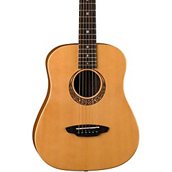 Luna Guitars Muse Safari Series Spruce 3/4 Dreadnought Travel Acoustic Guitar