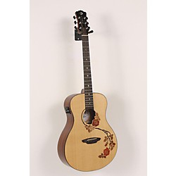 Luna Guitars Oracle Folk Series Rose Acoustic-Electric Guitar