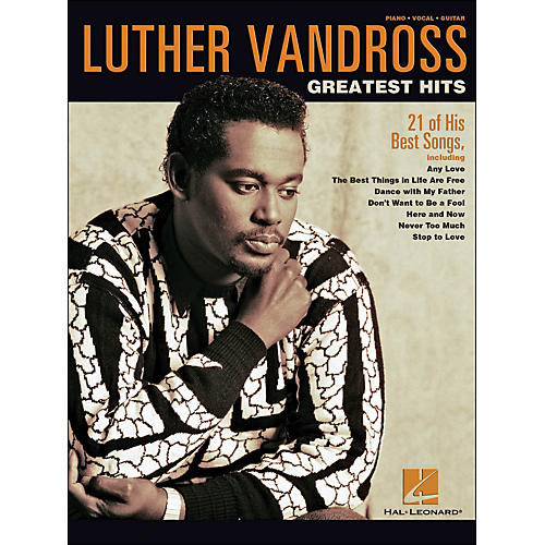 Hal Leonard Luther Vandross Greatest Hits arranged for piano, vocal, and guitar (P/V/G)-thumbnail