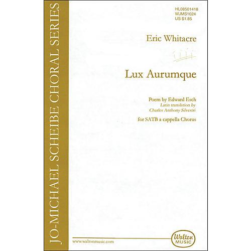 Walton Music Lux Aurumque SATB
