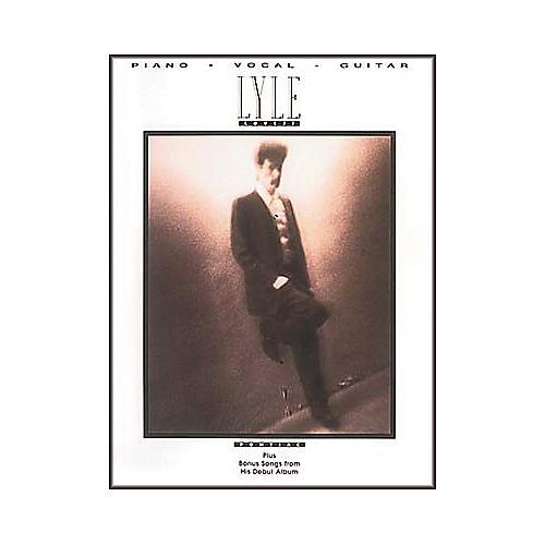 Hal Leonard Lyle Lovett - Pontiac Piano/Vocal/Guitar Artist Songbook