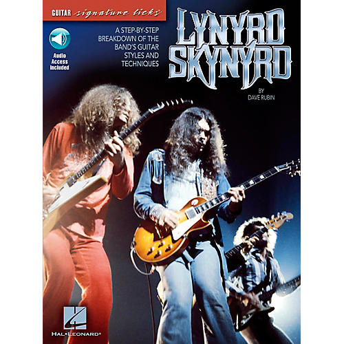 Hal Leonard Lynyrd Skynyrd - A Step-By-Step Breakdown of the Band's Guitar Styles and Technique Book with CD-thumbnail