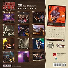 Browntrout Publishing Lynyrd Skynyrd 2017 Live Nation Calendar
