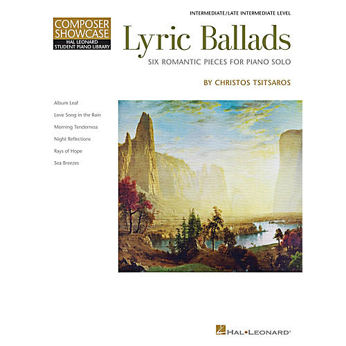 Hal Leonard Lyric Ballads - Six Romantic Pieces For Piano Solo-thumbnail