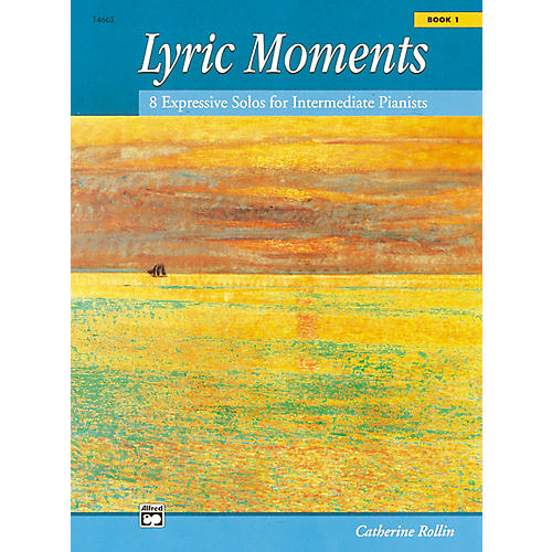 Alfred Lyric Moments Book 1 Intermediate Piano