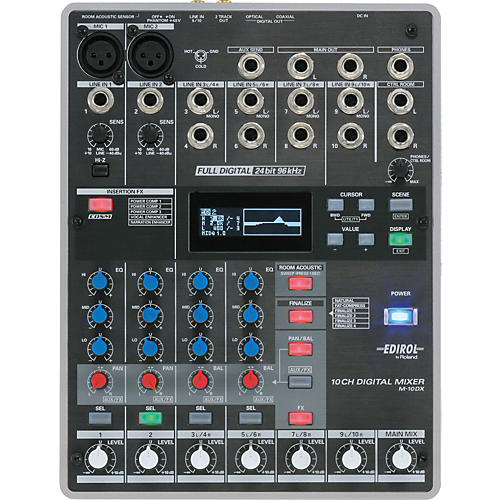 Edirol M-10DX 10-Channel Digital Mixer-thumbnail