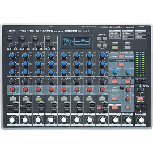 Edirol M-16DX 16-Channel Digital Mixer-thumbnail