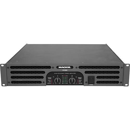 Mackie M-3000 High-Efficiency Stereo Power Amplifier