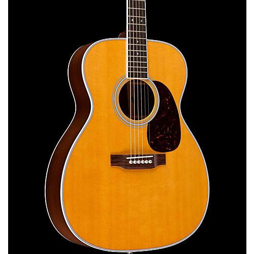 Martin M-36 Standard Series Slim Body Acoustic-Electric Guitar Natural Fishman Ellipse Matrix Blend Electronics