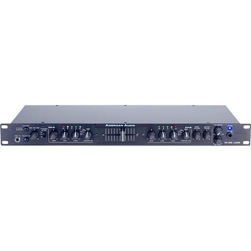 American Audio M-52 - 1U USB Rackmount Mixer