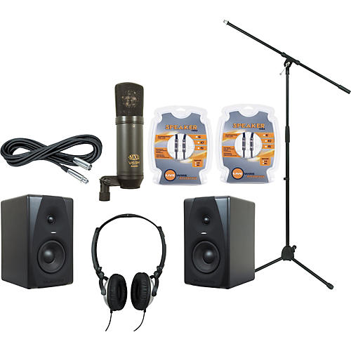 M-Audio M-Audio CX5 Mic and Headphone Recording Package-thumbnail