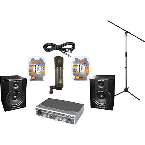 M-Audio M-Audio FireWire Solo and BX5a Recording Package