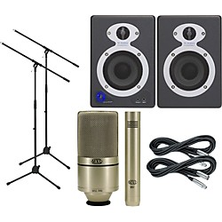 M-Audio MXL Monitor and Mic Package (KIT-476487)