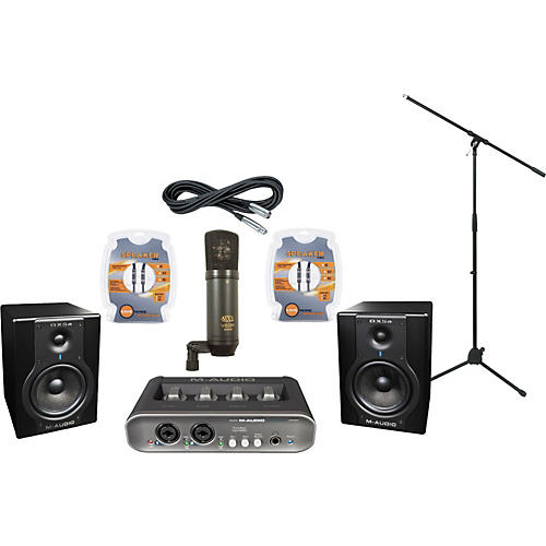 M-Audio M-Audio MobilePre MKII and BX5a Recording Package-thumbnail