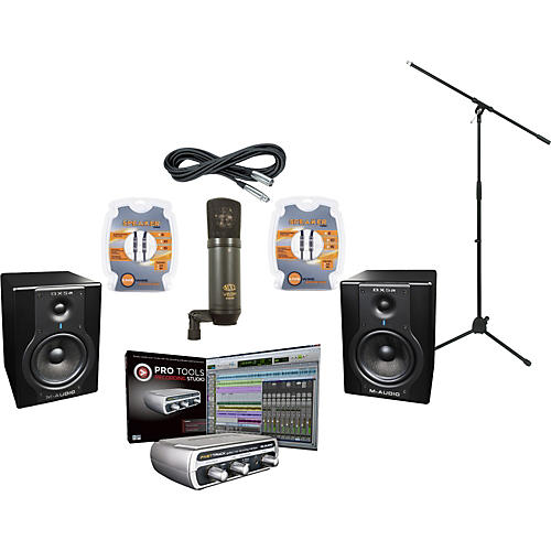 M-Audio M-Audio ProTools Recording Studio and BX5a Package