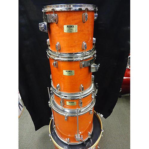 Mapex M Series Drum Kit Orange