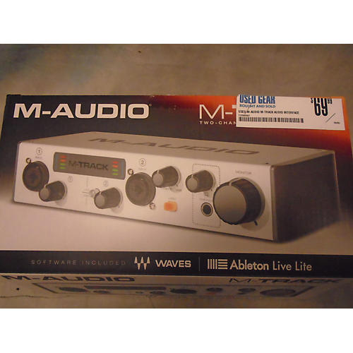 M-Audio M-TRACK Audio Interface-thumbnail