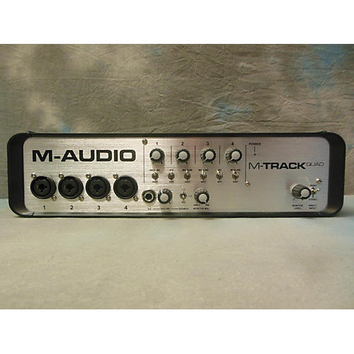 M-Audio M TRACK QUAD Audio Interface