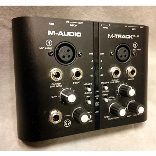 M-Audio M Track Plus Audio Interface-thumbnail