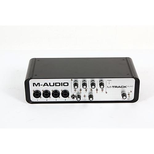 M-Audio M-Track Quad 4 Channel Audio Plus USB MIDI Interface  888365118949