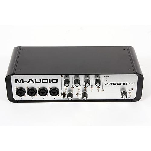 M-Audio M-Track Quad 4 Channel Audio Plus USB MIDI Interface  888365211459