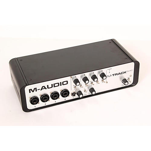 M-Audio M-Track Quad 4 Channel Audio Plus USB MIDI Interface  888365361857
