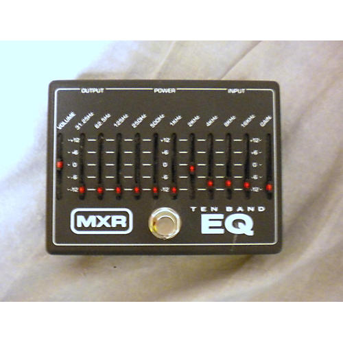 MXR M108 10 Band EQ Black Pedal-thumbnail
