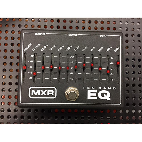 mxr 10 band eq effects loop